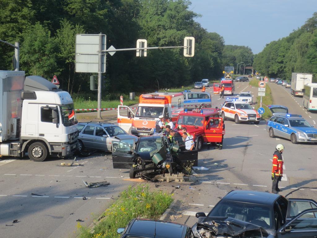 Unfall B462 Heute