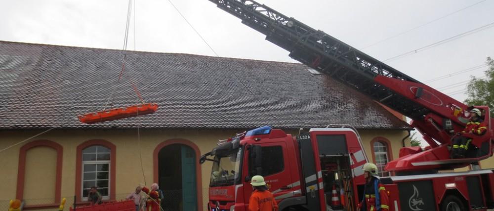 Unwetterwarnung Rastatt